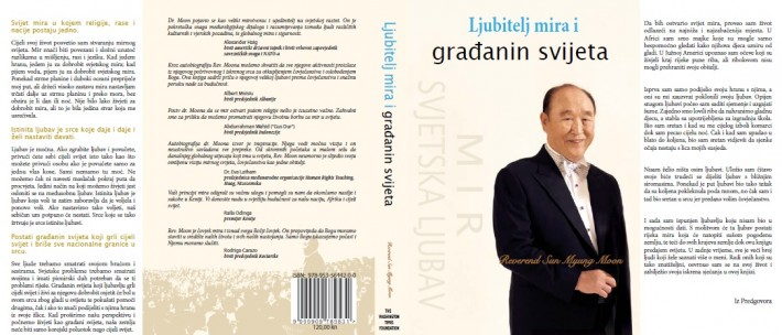 Autobiografija Reverend Sun Myung Moon na hrvatskom jeziku